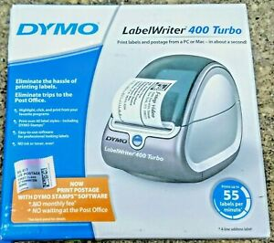 Dymo Labelwriter 400 Turbo Label Printer 93176 With A c Adapter