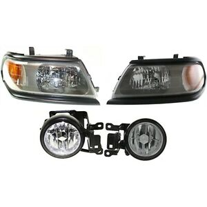 Headlight Kit For 2000 2004 Mitsubishi Montero Sport Left And Right 4pc