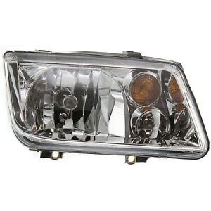 Headlight For 2002 2003 2004 2005 Volkswagen Jetta Right With Bulb