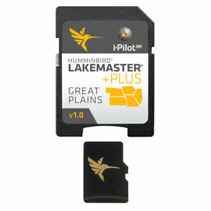 Expedited Delivery! Humminbird LakeMaster Plus Great Plains - microSD™ 6000