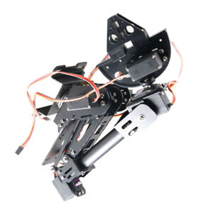 7 Dof Robot Arm Gripper With Servos Rc Robot Kit Diy Kits Educational Toy