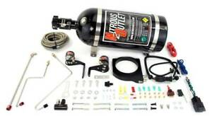 Nitrous Outlet Gm 2010 2015 Camaro 102mm Fast Intake Plate System 10lb Bottle