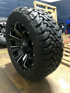 20x9 Fuel D546 Assault 35 Toyo Mt Wheels Rims Tires 5x5 Jeep Wrangler Jk Jl