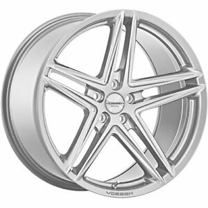 4 Staggered 20x8 5 20x9 5 Vossen Vfs5 Silver 5x112 40 40 Wheels Rims