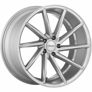 4 Staggered 20x9 20x10 5 Vossen Cvt Silver 5x112 25 30 Wheels Rims