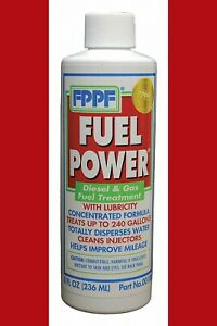Fppf Fuel Power Diesel Gas Fuel Concentrated Treatment 8 Ounce