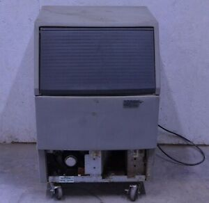 Scotsman Afe400a 1c 80lb Undercounter Flaker Flaked Ice Machine Afe400