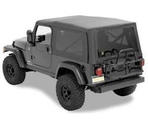 Bestop Factory Soft Top Skin For Jeep Tjl Wrangler Unlimited 04 06 Sailcloth