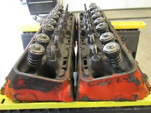 3917291 Gm Camel Hump Heads 1968 302 327 350 2 02 1 60 Valves Z 28 L197 A48 Sbc
