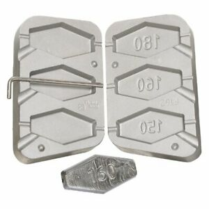 Inline Mold for make fishig lead sinkers  150 160 180g $38.00