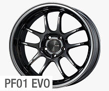 Enkei Pf01 Evo 18x9 5 Racing Wheel Wheels 5x114 3 Et0 12 22 35 45 Sbk Blackish