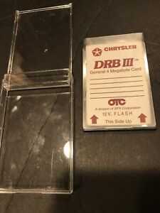 Rare Ci8023 Chrysler Pcmcia 4mb Card For Drb Iii Drb 3 Diagnostic Scan Tool Otc