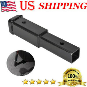 8 Trailer Hitch Extension For 2 Receiver Extender 5 8 Pin Hole 4000lbs Towin