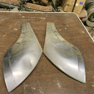 1953 Pontiac Chief 4 door Passenger And Drivers Side Rear Door Gravel Sheilds