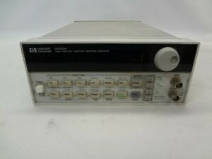 Hp 33120a 15mhz Function arbitrary Waveform Generator C See Notes