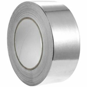 55 Yards Aluminum Foil Tape Hvac Ducts Insulation Equipment Repair Adhesive Tape