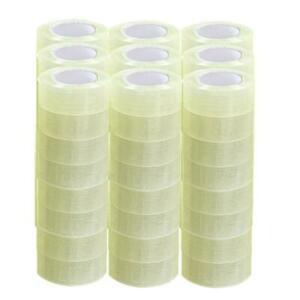 72 Roll Clear Carton Sealing Packing Shipping Tape 2 Mil 1 9 110 Yard 330 Ft