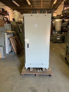 Asco 300 Series Automatic Transfer Switch 600 Amp 208v 3ph Nema 3r New Surplus