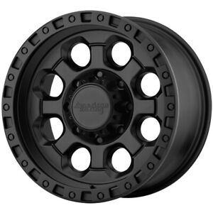 4 american Racing Ar201 17x9 8x180 12mm Black Wheels Rims 17 Inch