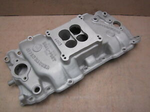 Offy 360 Dual port Big Block Chevy Intake Manifold Offenhauser 6003 Old School