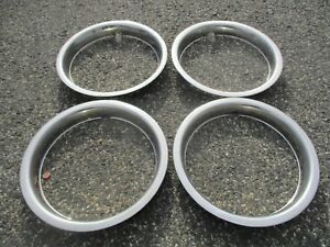 Ford Gm 14 Trim Rings Beauty Rings Set Of 4 Metal