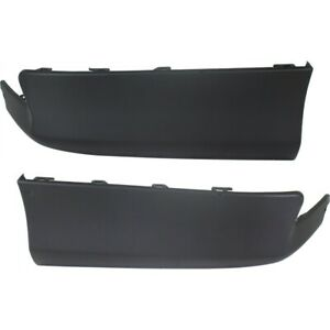 Rear Left Right Side Valance For 2011 2013 Toyota Corolla Primed Set Of 2