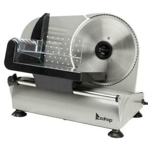 150w 7 5 Ham Slicing Machine Deli Slicer Electric Meat Food Bread Home 0 15mm