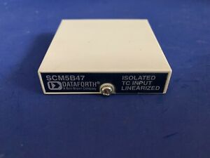 Dataforth Scm5b47 Type S Linearized Thermocouple Input Module Used