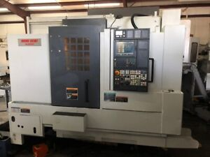 Used Mori Seiki Nl 2000y Cnc Lathe 2005 Y axis Tailstock Collet Chuck