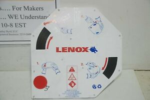 Lenox Neo Band Saw Blade 1 4 X 025 X 24t 100 Foot Coil Distressed Packaging
