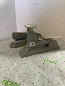 2 Vintage Stapler Lot Swingline No 13 Art Deco Office Desk