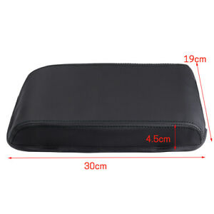 Black Car Armrest Center Box Lip Cover Protection For Toyota Camry 2012 2017