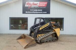 2013 New Holland C232 Skid Steer Loader 905 Hrs 74 Hp Diesel Orops Aux Hyd