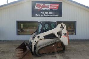 2006 Bobcat T190 Skid Steer Loader 3446 Hrs 66 Hp Diesel Erops Heat Air Sjc Ctrl