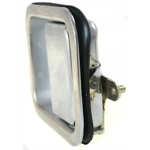 Door Handle For 97 98 99 2000 2006 Jeep Wrangler Tj Front Left Outer Chrome