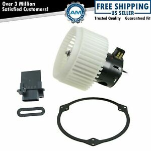 A c Ac Heater Blower Motor W Fan Cage Resistor Kit For Cobalt Hhr G5