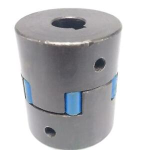1x Jaw Coupler Rubber Spider Motor Shaft Hub Coupling 45 X 75 X 14mm