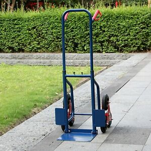 Heavy Duty Stair Climbing Lifting Moving Lift Hand Truck Warehouse Trolly 440lbs