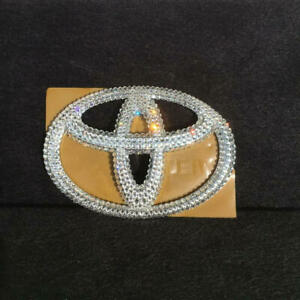 Toyota Logo Emblem Decoration Crystal Limited Edition Series Collection Special