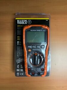Klein Tools Mm600 Auto ranging Digital Multimeter 1000 Volt New Free Shipping