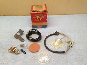 1949 49 Dodge Mopar D30 Nos Backup Light Parts B