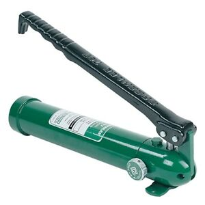 Greenlee 767 Hydraulic Hand Pump
