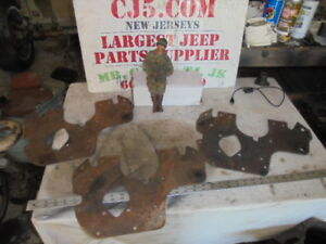 Jeep Willys F 134 4 Cly Front Engine Plate
