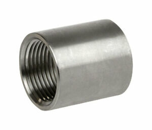 Smith Cooper 1 In Thread Stainless Steel Coupling