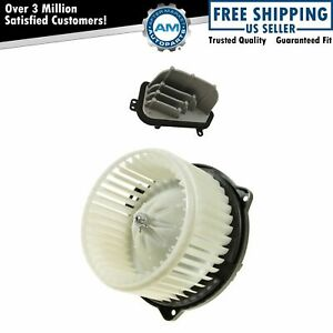 A c Ac Heater Blower Motor W Fan Cage Resistor Kit For Acura Mdx Honda Pilot