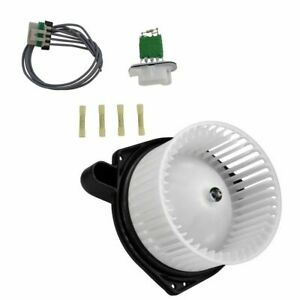 A c Ac Heater Blower Motor W Fan Cage Resistor Kit For Chevy Gmc Isuzu