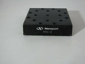Newport Prc 3 Optical Rail Carrier 3 0 In Length 1 4 20 Thread Prl Series