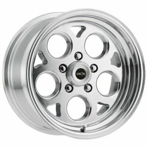 Four 4 15x7 American Muscle 561 Sport Mag Et 0 Polished 5x120 65 5x4 75
