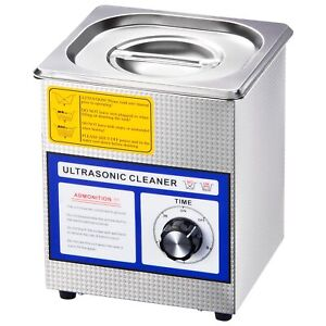 Stainless Steel 60w 1 3l Industry Digital Ultrasonic Cleaner Dimmable W timer