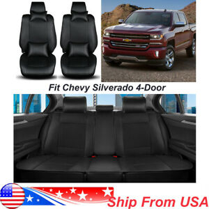 For 4 Doors Chevy Silverado 2013 2018 5 Seat Car Seat Cover Racing Seat Cushion